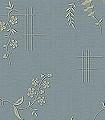 Ulricehamn,-col.-7-Blumen-Linie-Klassische-Muster-Florale-Muster-Jugendstil-Gold-Anthrazit-Türkis