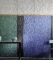 Un-toque-de-oro,-col.-1-Streifen-Moderne-Muster-FotoTapeten-Grün-Blau-Gold-Silber