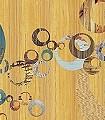 United-Kreise-Holz-FotoTapeten-Braun-Multicolor