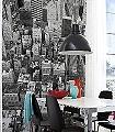 Uptown-Gebäude-Großmotiv-Stadt-FotoTapeten-Grau-Schwarz-Weiß