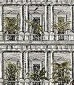 Urban-jungle-Blumen-Tiere-Gebäude-Äste-Fauna-Florale-Muster-FotoTapeten-Grün-Anthrazit-Creme
