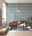 Utto,-col.50-Streifen-Stoff-Moderne-Muster-Grün-Blau-Ocker-Hellblau