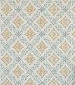 Valerian-col.11-Quadrate/Rechtecke-Jugendstil-Klassische-Muster-Grün-Creme-Ocker