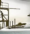 Verano,-col.-02-Landschaft-Kunst-Strand-Sport-Moderne-Muster-FotoTapeten-Olive-Creme