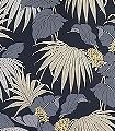 Vernazza,-col.-5-Blumen-Blätter-Florale-Muster-Gold-Anthrazit-Schwarz-Ocker