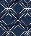 Vico,-Indigo-Kachel-Quadrate/Rechtecke-Moderne-Muster-Blau-Silber