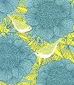 Victoria,-blue-Blumen-Vögel-Florale-Muster-Türkis-Hellgrün-petrol