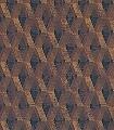 Virginia-Ginger-Rauten-Grafische-Muster-Blau-Braun-Bronze