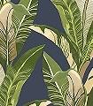 Vivid-Banana,-col.04-Blätter-Florale-Muster-Exoten-Grün-Blau-Ocker