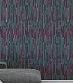 Voguel,-col.06-Streifen-Moderne-Muster-Grün-Anthrazit-weinrot