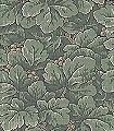 Waldemar,-col.-4-Blätter-Äste-Früchte-Klassische-Muster-Florale-Muster-Jugendstil-Grün-Braun-Anthrazit-Creme