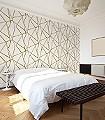 Wenzel,-col.04-Linie-Stoff-Dreiecke-Moderne-Muster-Gold-Weiß-Perlmutt