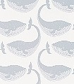 Whale-of-a-Time,-col.02-Tiere-Fische-KinderTapeten-Grau-Weiß-Creme