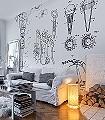White-Edition-A2-Gegenstände-Moderne-Muster-Schwarz-Weiß