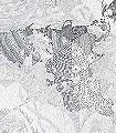 Wholearth-Welt-Großmotiv-Zeichnungen-FotoTapeten-Grau-Weiß