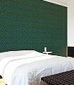 Willow-Bough-Olive/Turquoise-Blätter-Klassische-Muster-Florale-Muster-Grün-Braun-Türkis