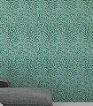 Willow-Bough-Sky/Leave-Green-Blätter-Klassische-Muster-Florale-Muster-Grün-Braun-Hellblau