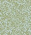 Willow-Sky/Leaf-Blätter-Klassische-Muster-Florale-Muster-Grün-Hellblau