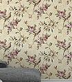 Winston,-col.01-Blumen-Vögel-Patina-Florale-Muster-Grün-Braun-Creme-Pink
