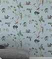 Woodland-Chorus,-col.06-Bäume-Vögel-Florale-Muster-Multicolor-mint