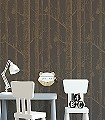 Woods-&-Pears,-col.28-Obst-Bäume-Moderne-Muster-Gold-Braun