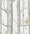 Woods-&-Pears,-col.32-Obst-Bäume-Moderne-Muster-Gold-Anthrazit-Weiß