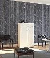 Woods-&-Stars,-col.03-Bäume-Sterne-Moderne-Muster-KinderTapeten-Silber-Schwarz