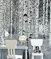 Woods-XXL-Bäume-Großmotiv-FotoTapeten-Schwarz-Weiß-Schwarz-und-Weiß