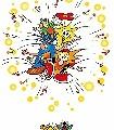 Woopax-,-col.1-KinderTapeten-Weiß-Multicolor
