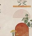 YOYO-PARADISO-Blumen-Blätter-Gebäude-Florale-Muster-Moderne-Muster-Multicolor