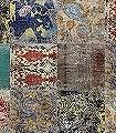 Yoyo,-U1.09-Kachel-Stoff-Patina-Moderne-Muster-FotoTapeten-Türkis-Multicolor
