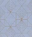 Yves,-col.71-Graphisch-Grafische-Muster-Art-Deco-Hellblau