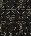Yves,-col.73-Graphisch-Grafische-Muster-Art-Deco-Schwarz