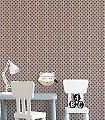 Zyprian,-col.09-Retro-Graphisch-Moderne-Muster-Grafische-Muster-Gold-Silber-Lila-Grau-Braun