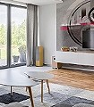 belles-matieres,-Motif.-04-Kreise-Beton-Moderne-Muster-FotoTapeten-Anthrazit-Pink