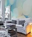 bohkes-Florale-Muster-Moderne-Muster-Grün