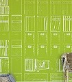 books-and-music-green-Moderne-Muster-Grün