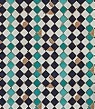 chess,-col.03-Kachel-Quadrate/Rechtecke-Moderne-Muster-Blau-Türkis-Perlmutt-Hellbraun