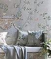 de-Gournay---Badminton-Design-Blumen-Tiere-Bäume-Blätter-Vögel-Äste-Vintage-Tapeten-Klassische-Muster-Fauna-Florale-Muster-FotoTapeten-Multicolor