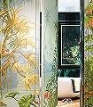 de-Gournay---L'-Eden-Blumen-Landschaft-Blätter-Florale-Muster-Multicolor