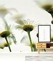 flower_into_the_sky-Blumen-Moderne-Muster-FotoTapeten-Grün-Gelb-Weiß