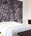 forrest-viloet-Bäume-Äste-Moderne-Muster-Lila