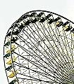 the-wheel,-yellow-Gegenstände-FotoTapeten-Gelb