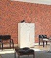 1080-Cadires,-col.05-Stuhl-Moderne-Muster-Orange-Anthrazit