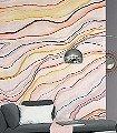 Agate-Wellen-Linie-FotoTapeten-Creme-Multicolor