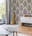 Anakreon,-grey-brown-Ornamente-Figuren-Klassische-Muster-Barock-Braun-Creme