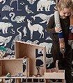 Animal---Blue-Tiere-Fauna-KinderTapeten-Blau-Creme