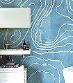 Arctic-Wind-Moderne-Muster-FotoTapeten-Hellblau