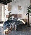 Azulejos,-col.80-Kreise-Linie-Graphisch-FotoTapeten-Grafische-Muster-Grau-Braun-Creme-Ocker