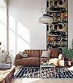 Bordeaux'84- -Silent-City-Solarisations- -Ingo-Krasenbrink-Design- -A--FotoTapeten